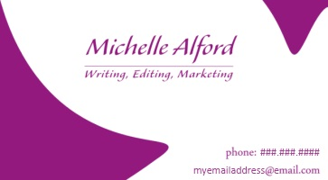 Michelle Alford Business Card